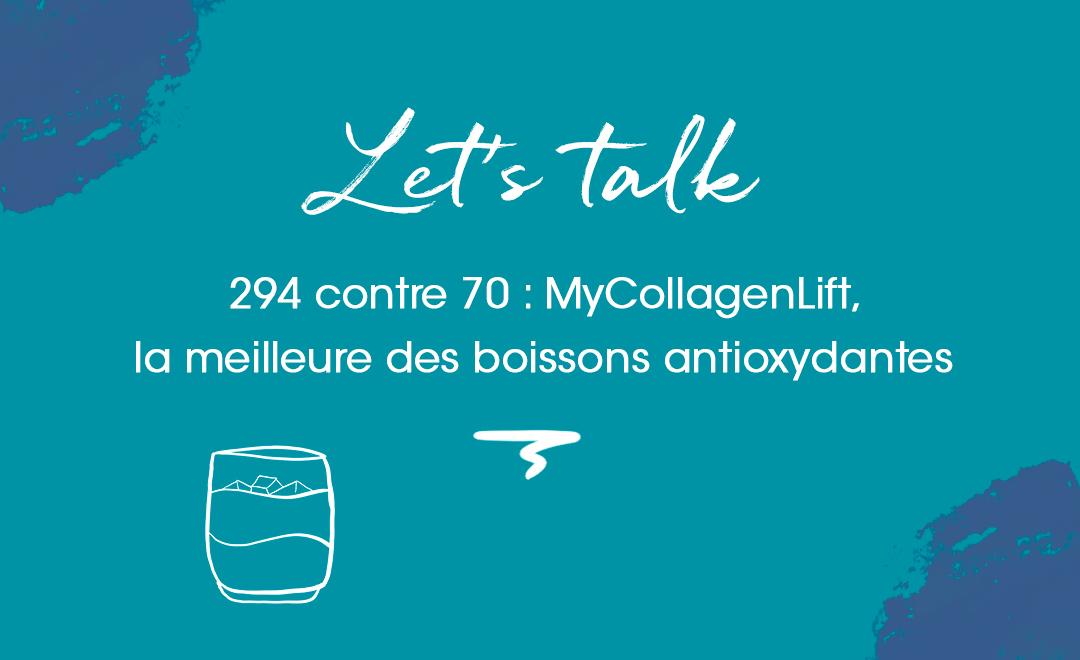 MyCollagenLift, meilleure des boissons antioxydantes